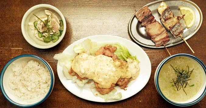 孤独のグルメシーズン7の8話泪橋「東京都中野区百軒横丁のチキン南蛮と地鶏モモ串」