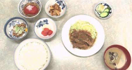 孤独のグルメシーズン6の2話「東京都 新宿区 淀橋市場の豚バラ生姜焼き定食(伊勢屋食堂)」