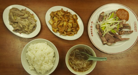 孤独のグルメシーズン3の2話「神奈川県横浜市 日ノ出町のチートのしょうが炒めとパタン」