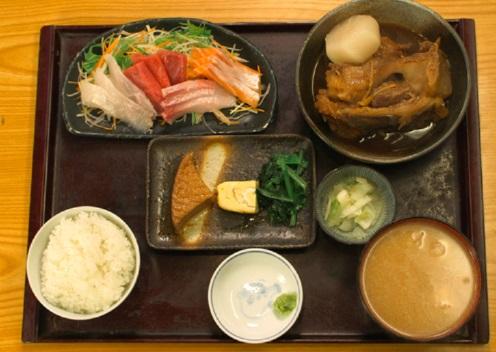 孤独のグルメシーズン5の6話「東京都目黒区大岡山の九絵定食となめろう冷茶漬け」